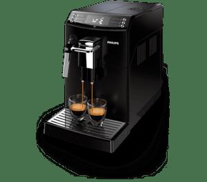 Кафеавтомат Philips EP 4010/00, С кана за мляко, Черен